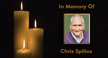 In Memory of Chris Spilios. Founder of the Pulmonary Fibrosis Research Fund and President of Crown Uniform & Linen Service.